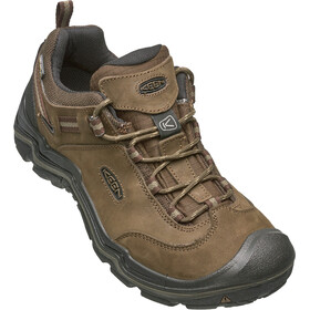 Keen Wanderer WP Shoes Men cascade brown/dark earth